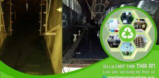 Công ty xử lý nước thải công nghiệp Thái An