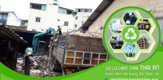 Công ty xử lý rác công nghiệp Thái An