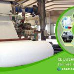 chất thải dành cho nhà máy sản xuất giấy