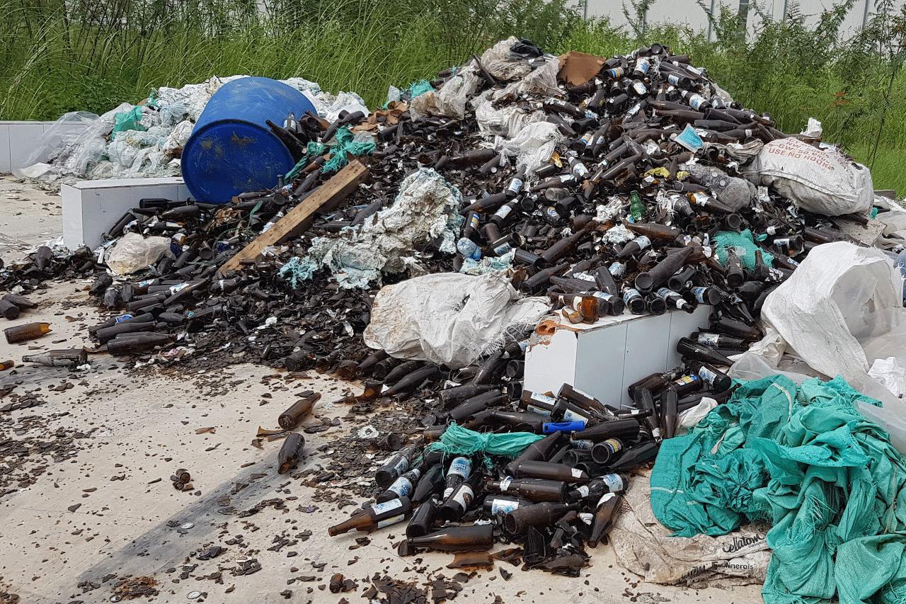 Hình ảnh bãi rác