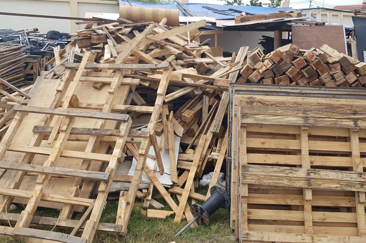 Hình ảnh pallet gỗ