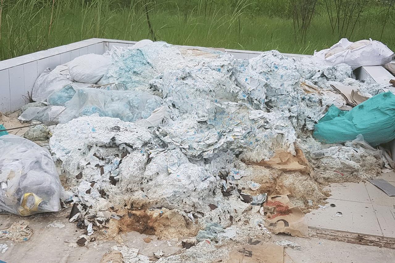 Hình ảnh rác nilon