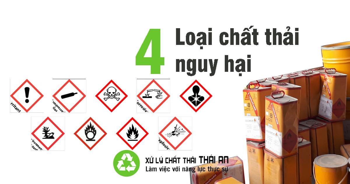 Chất thải nguy hại là gì? Phân loại chất thải nguy hại