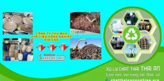 Công ty thu mua phế liệu công nghiệp giá tốt của Thái An