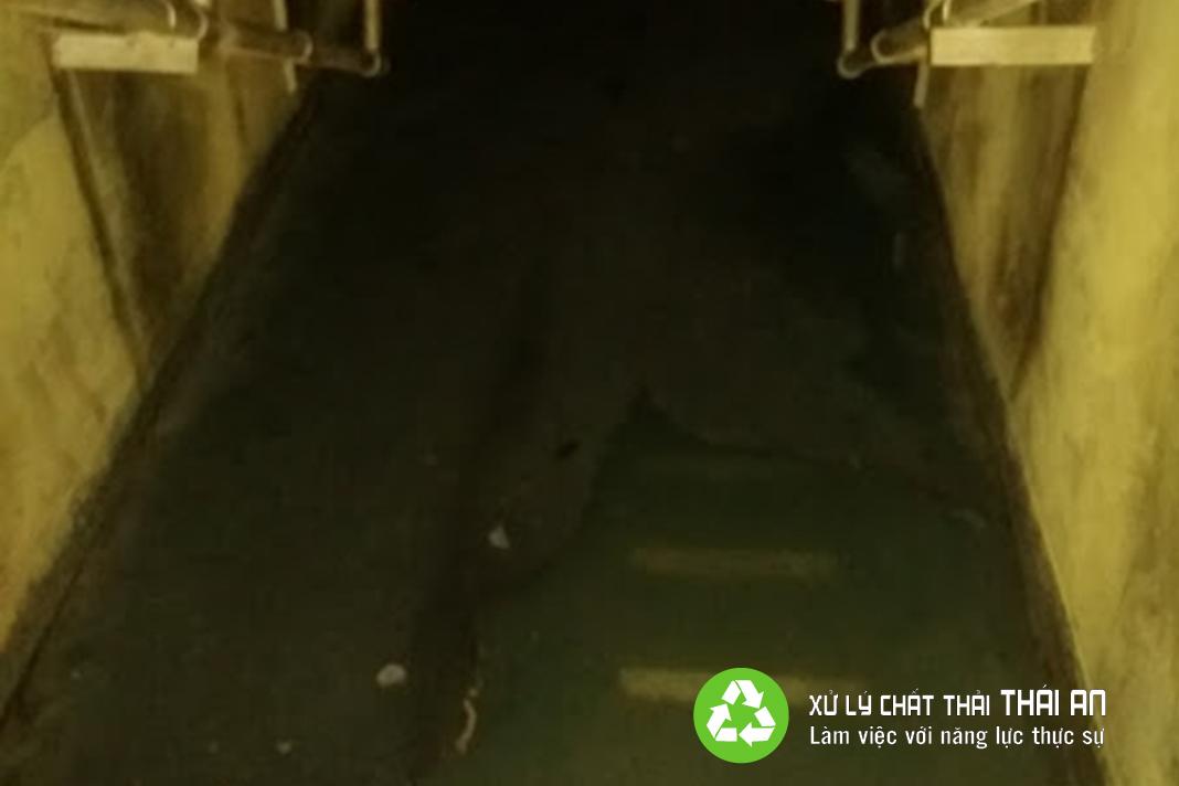 Lưu, chứa nước thải công nghiệp