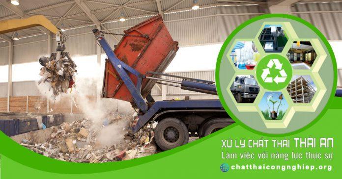 Xử lý chất thải rắn công nghiệp thông thường theo quy định mới nhất