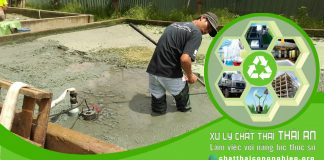 Công ty xử lý bùn thải công nghiệp Thái An