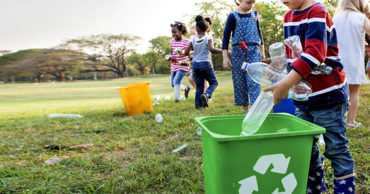 Hãy bắt đầu với việc bỏ rác đúng nơi