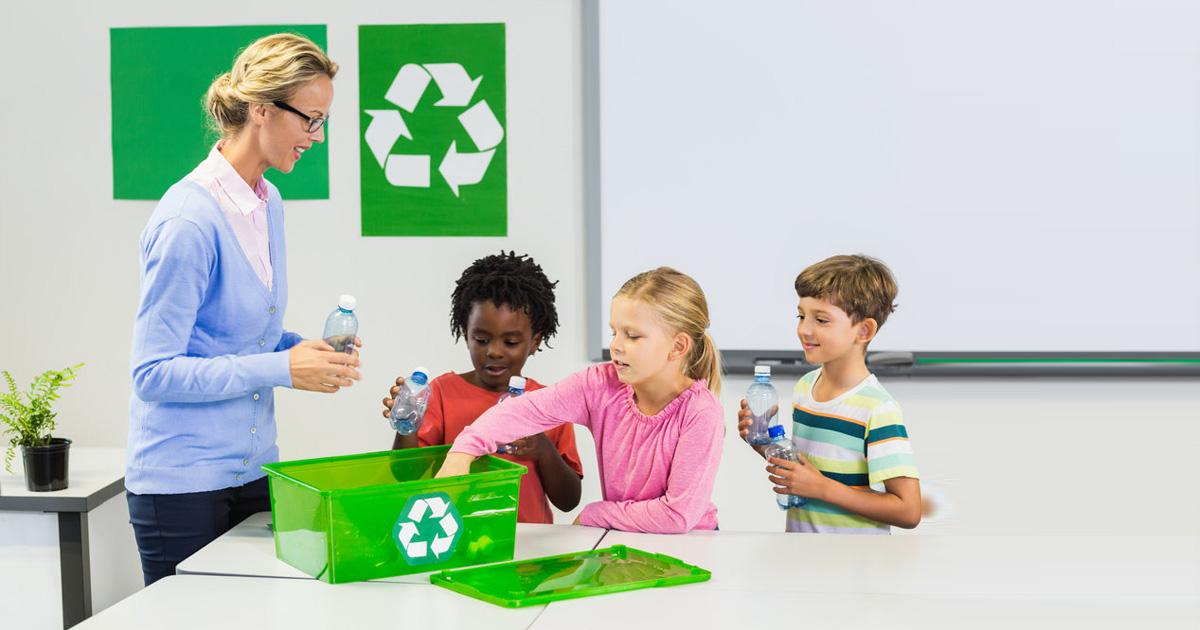 dạy trẻ mầm non bảo vệ môi trường ngay tại nhà
