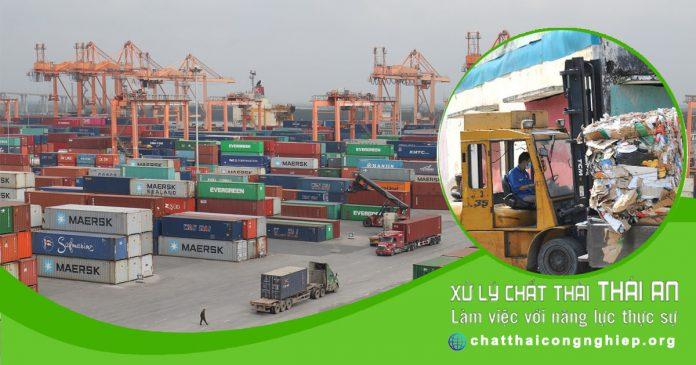 Doanh nghiệp nhập khẩu phế liệu được miễn nộp thông báo