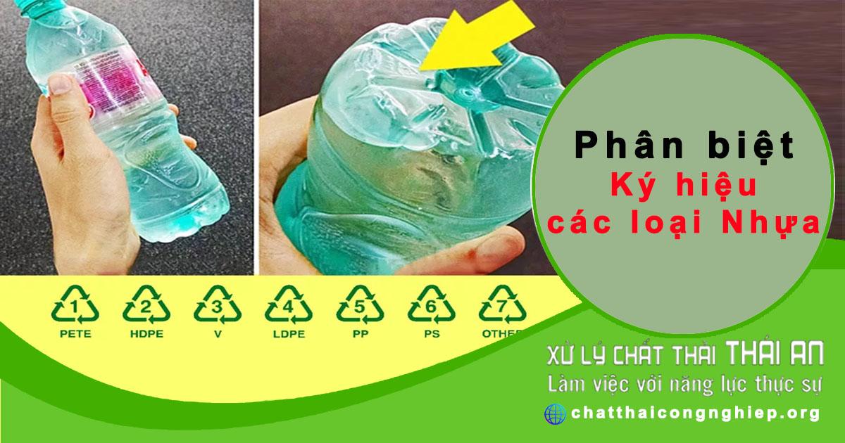 Nhận biết nhựa tái chế an toàn hay không qua ký hiệu