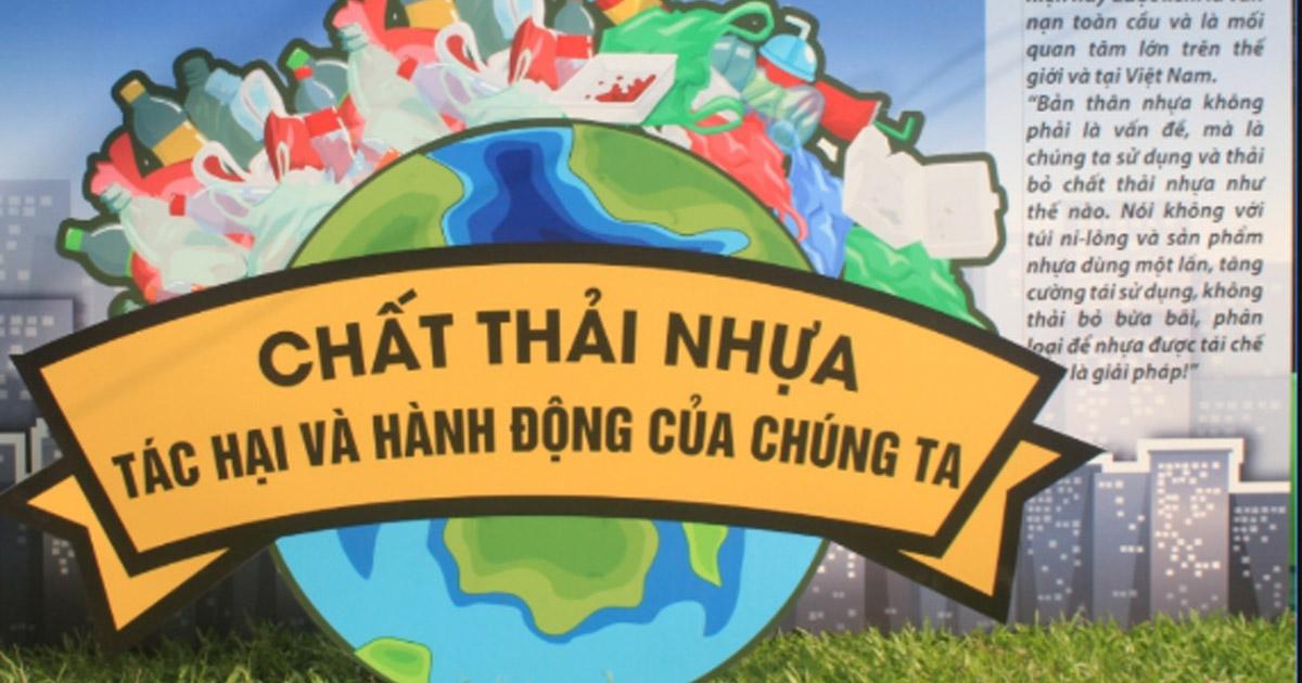 Phát động phong trào chống rác thải nhựa trên toàn quốc