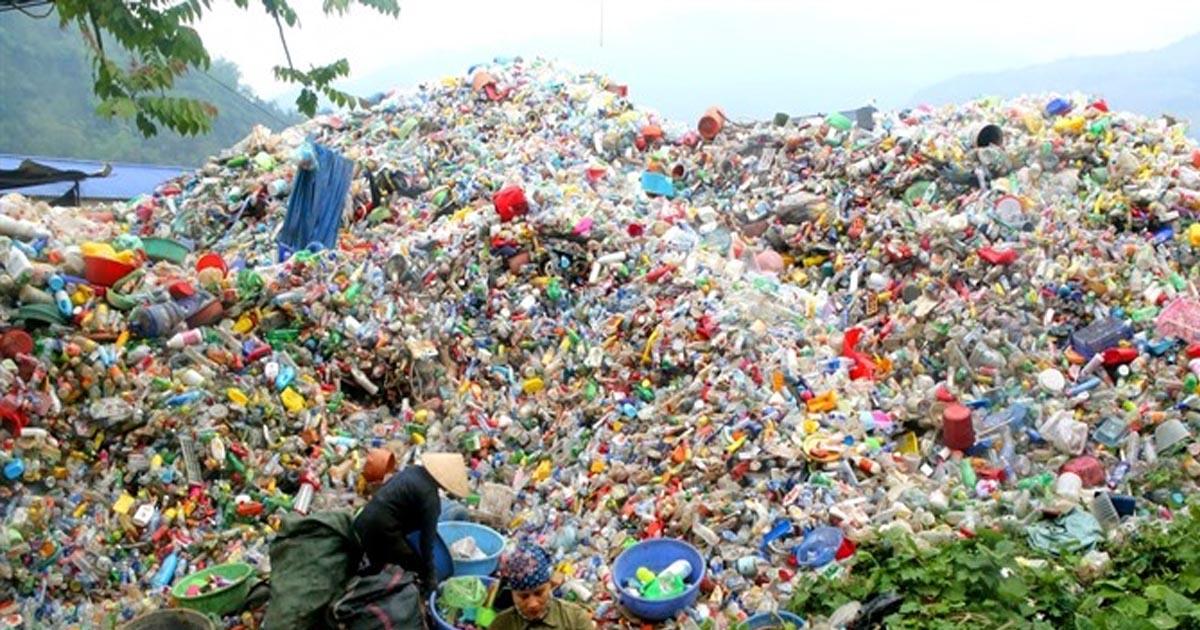 Nguồn gốc phát sinh rác thải nhựa