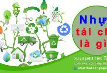 Tìm hiểu nhựa tái chế là gì