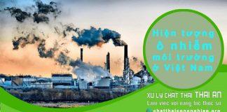 Vấn đề môi trường hiện nay ở việt nam ta và những con số gây sốc