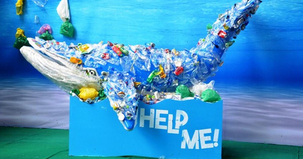 Rác thải nhựa đang phá hủy các đại dương