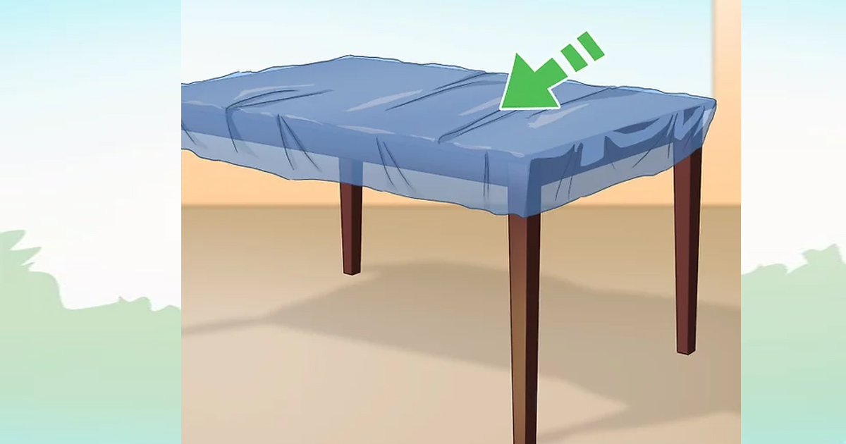 Bạn cũng có thể làm cho một chiếc giường con chó bằng cách nhồi túi ni lông trong một chiếc gối lớn.